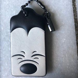Coach x Mickey Bag Tag / Key Chain